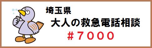 埼玉県大人の救急電話相談